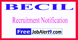 BECIL Broadcast Engineering Consultant India Limited Recruitment Notification 2017 Last Date 26-06-2017