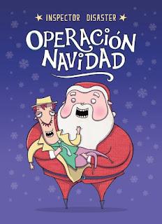Portada libro Inspector Disaster: Operación Navidad