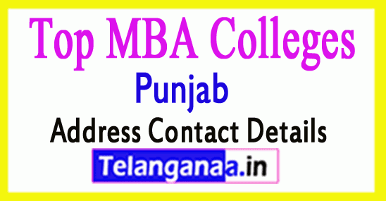 Top MBA Colleges in Punjab