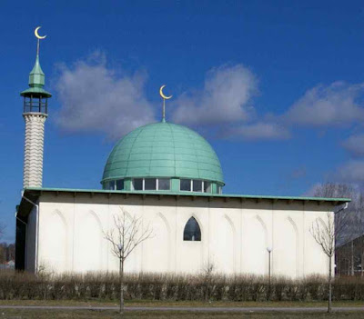 Mesquita de Uppsala.