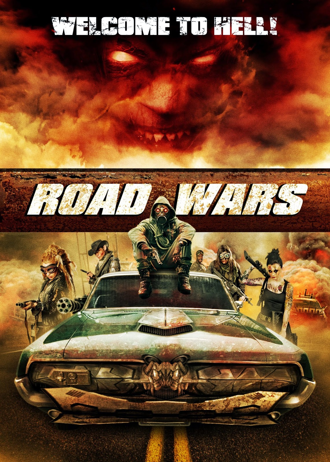 Road Wars 2015 - Full (HDRIP)