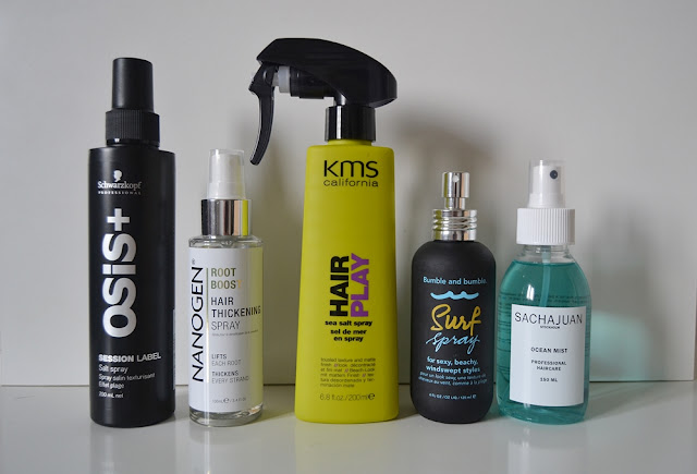 Top 5 Favourite Sea Salt Sprays