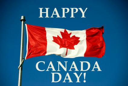 HD Wallpapers of Canada Day with Canada Day Flag