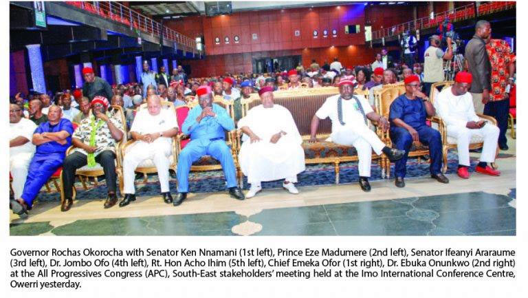 3 Southeast governors set to join APC - Rochas