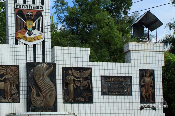 taman kota tondano minahasa sulawesi utara