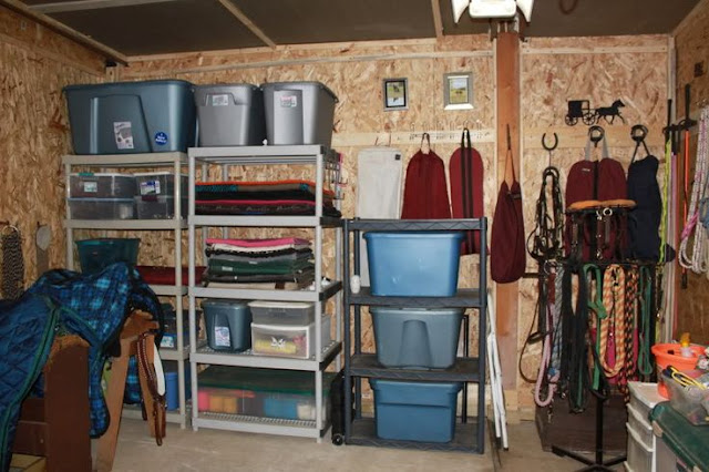 tack room organization ideas