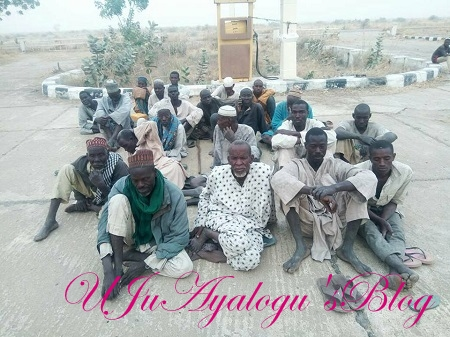 BREAKING: Troops Collapse Boko Haram's Structure, Frees 700 Farmers, Fishermen Held Captives ...See Photos