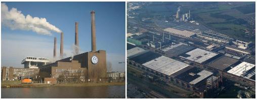 Factoría de Volkswagen en Wolfsburg