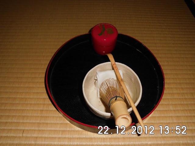 Peralatan Upacara Minum Teh di Jepang