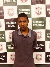 Polícia prende acusado de matar adolescente para roubar celular em Ceilândia