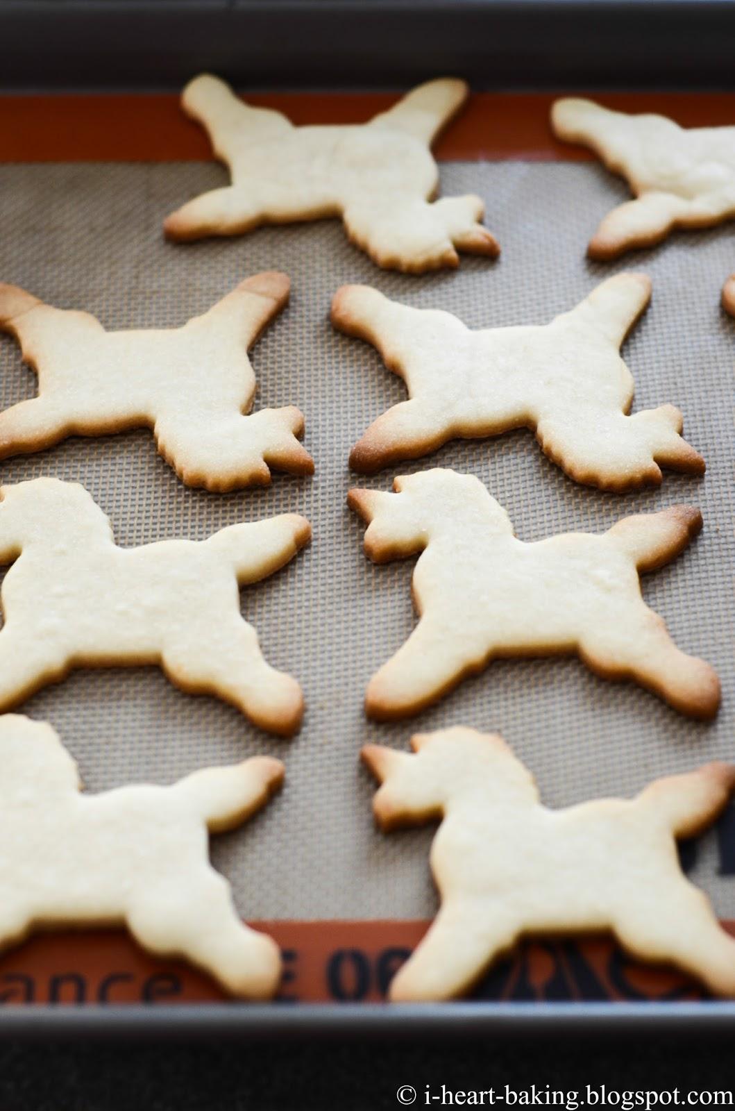 I Heart Baking Unicorn Cookies