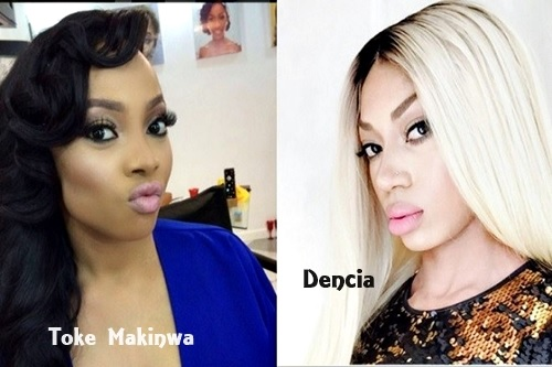 "Dencia Calls Toke Makinwa's Endorsed Bleaching Cream ""Fraudulent"" for Stealing Her Photos"