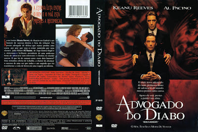 Filme Advogado do Diabo (The Devil's Advocate) DVD Capa
