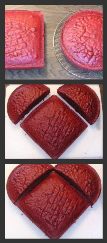 """Торт на 14 февраля: """"сладкое сердце"""" с выпеканием и без"""