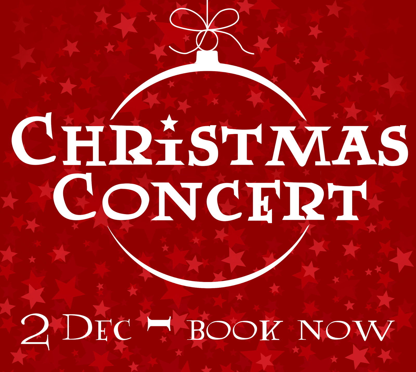 Christmas Concert - 2nd December - Book Now!