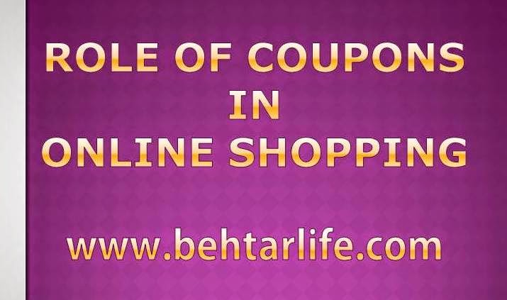 Role of Coupons in Online Shopping