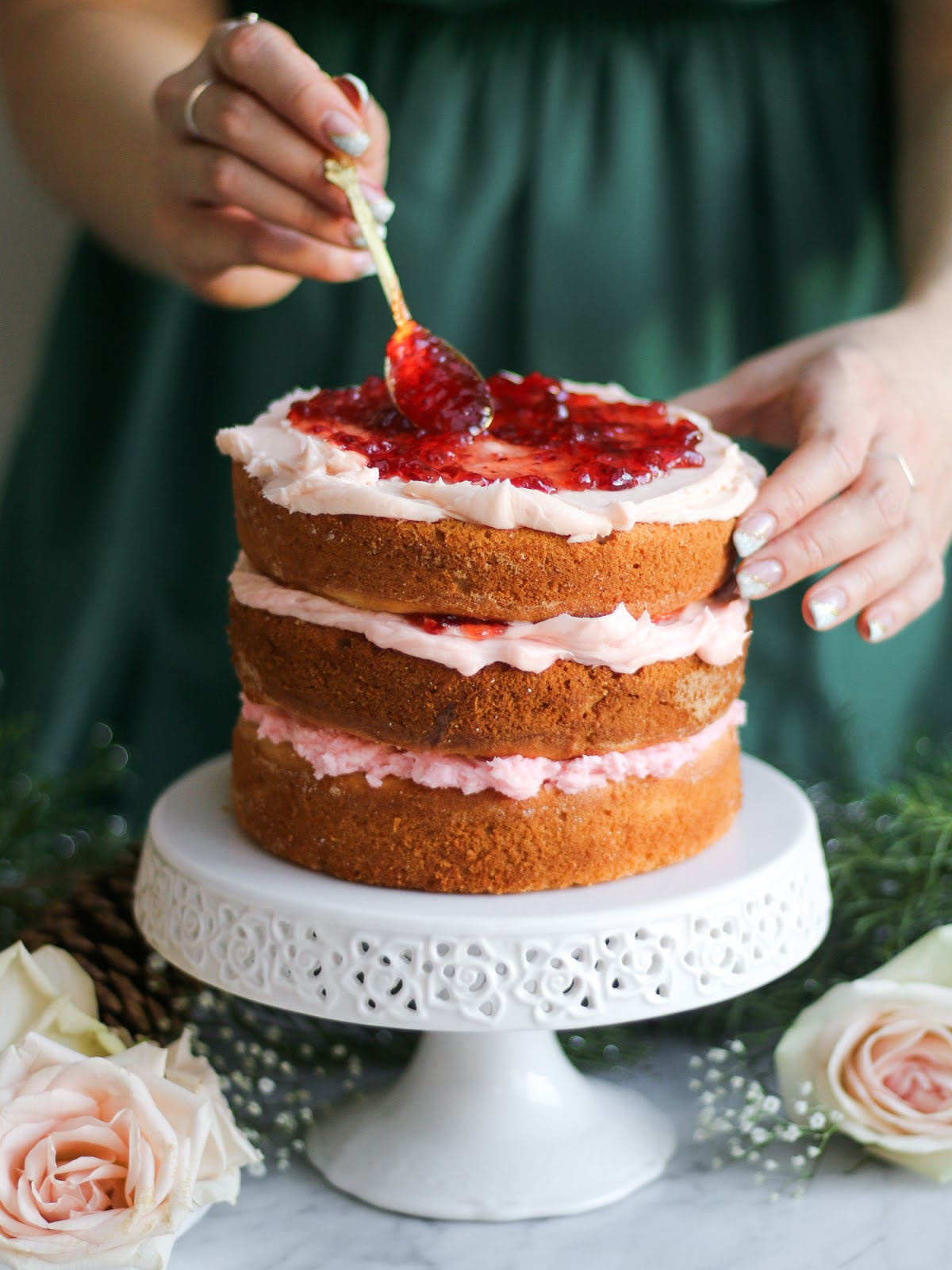White Chocolate Raspberry Cake (x Pure Leaf Tea ...