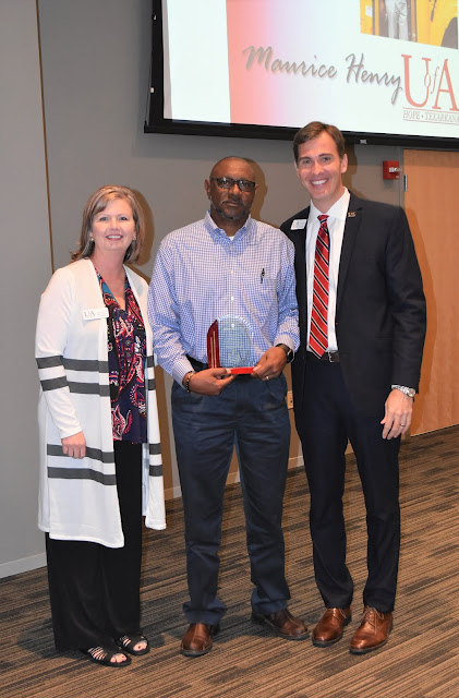 Maurice Henry of Fulton named Outstanding Alumnus of the year by UAHT