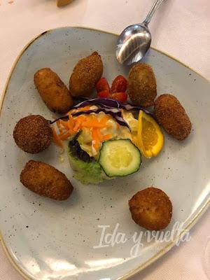 Comer en Antequera Arte de Cozina croquetas