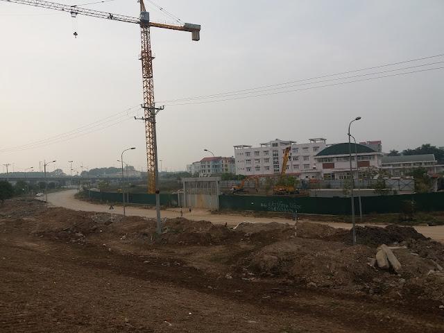 Cập nhật tiến độ dự án Intracom 8 Vĩnh Ngọc