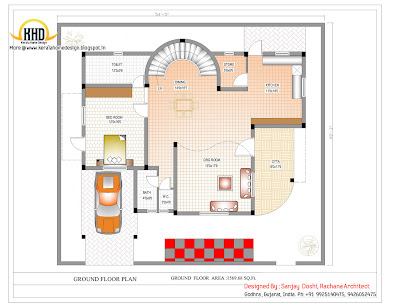 Duplex Ground Floor Plan Online - 290 Sq M (3122 Sq. Ft.) - February 2012