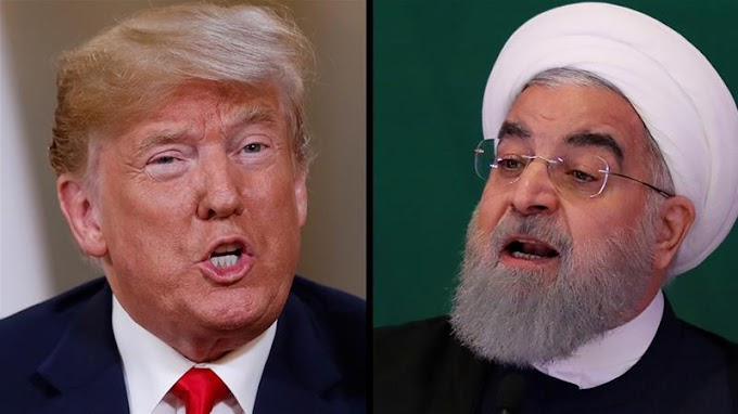 Trump warns Iran's Rouhani: Threaten us 'and you will suffer'