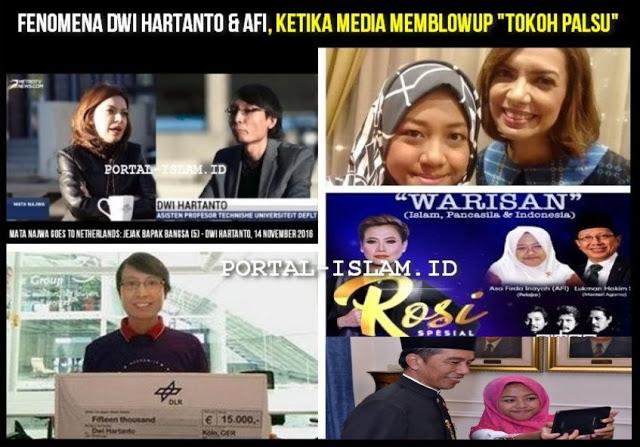 "Fenomena Dwi Hartanto & Afi, Ketika Media Memblowup ""Tokoh Palsu"""