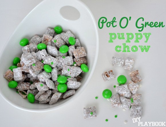 Pot O' Green Puppy Chow
