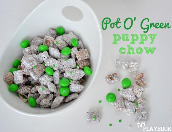 Pot O' Green Puppy Chow