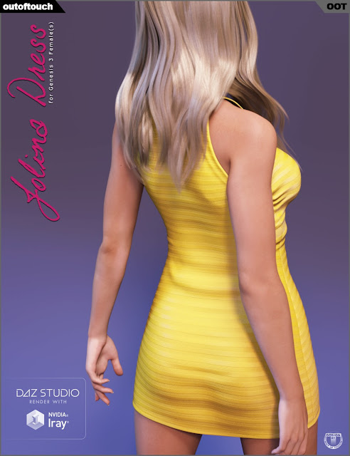 Jolina Dress for Genesis 3 Female