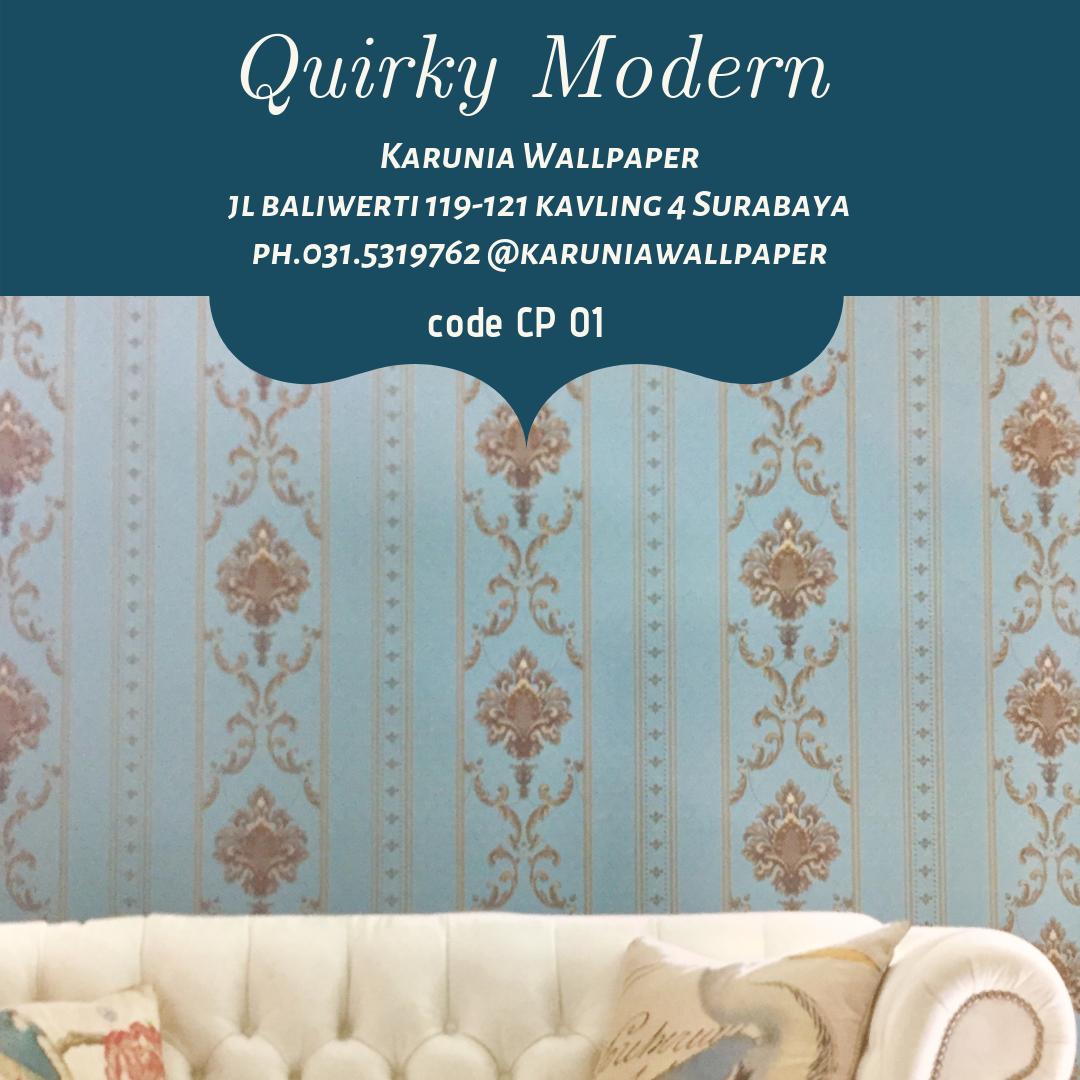 jual wallpaper ornamen klasik surabaya