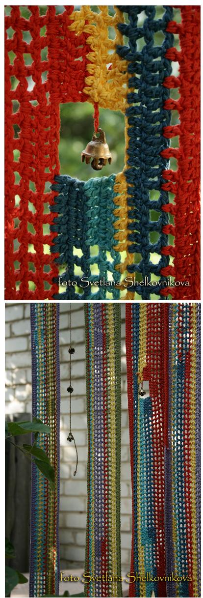 Inspiracion Cortina de Crochet