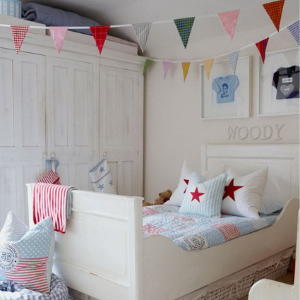 Pennants in children's bedrooms 3