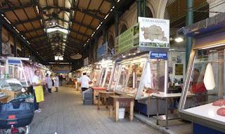 Mercado Central de Atenas.