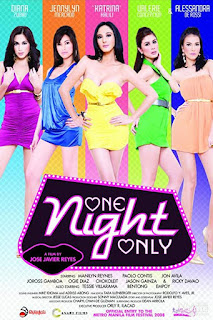 One Night Only is a 2008 comedy-romance film by OctoArts and Canary.