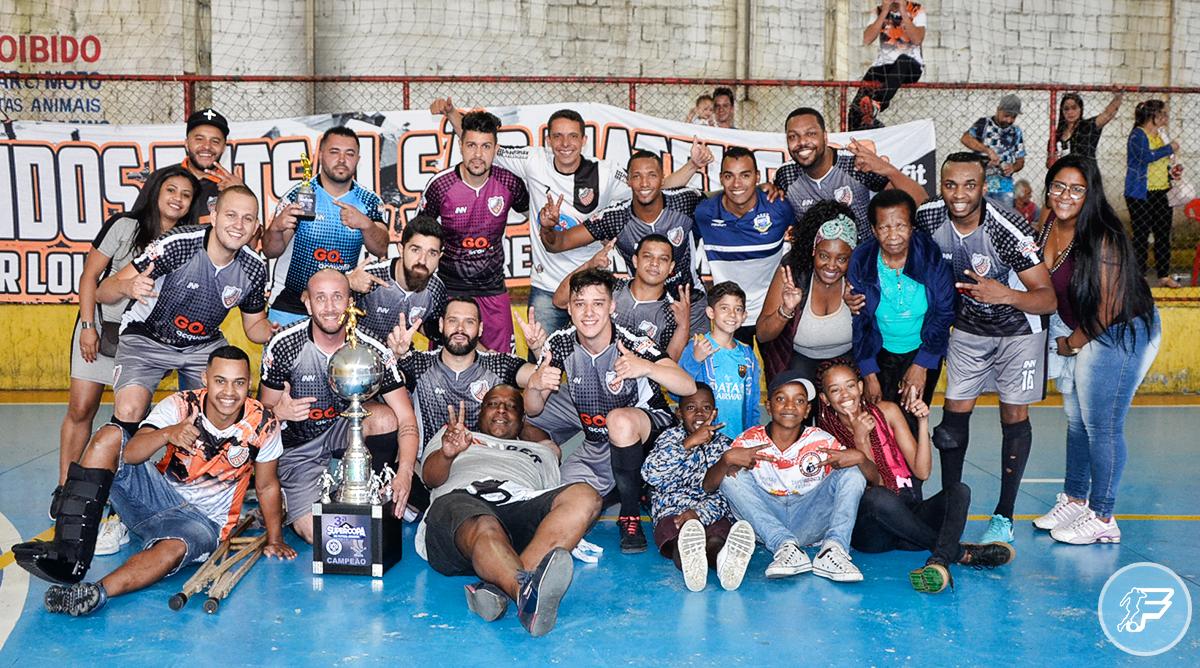 Atrevidos São Mateus é campeão da Super Copa UCFA Prata