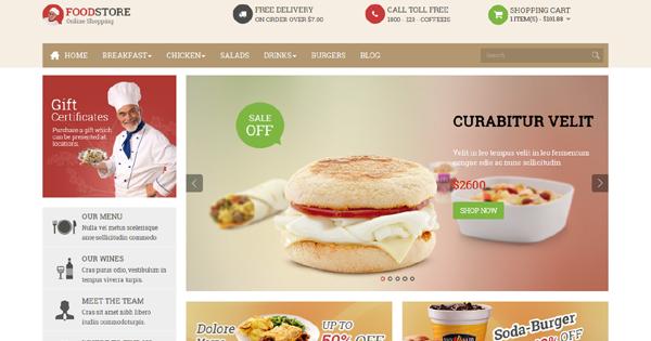 Pav Food Store Free Download