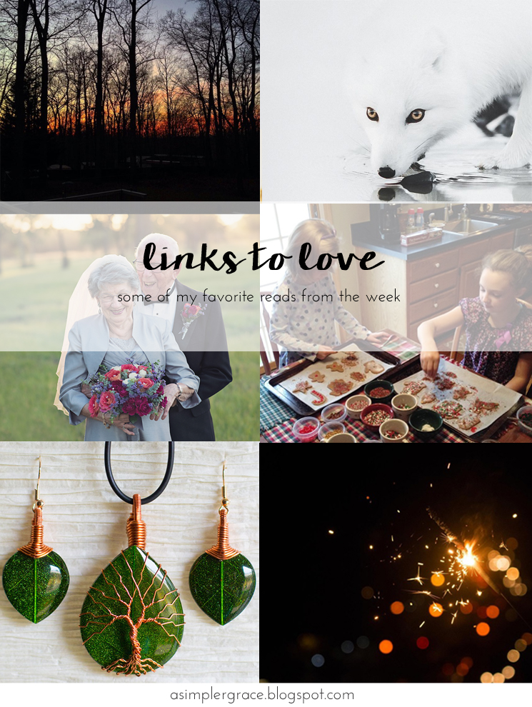 My favorite reads from the week.  #linkstolove #fridayfavorites - Links to Love | 78 - A Simpler Grace