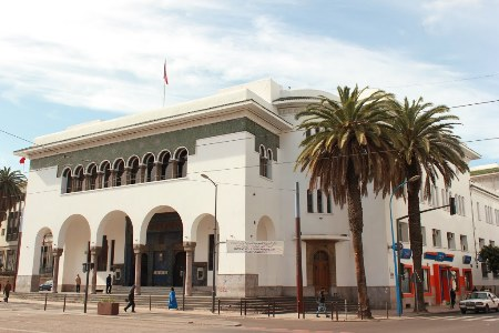 Central Post Office, Casablanca