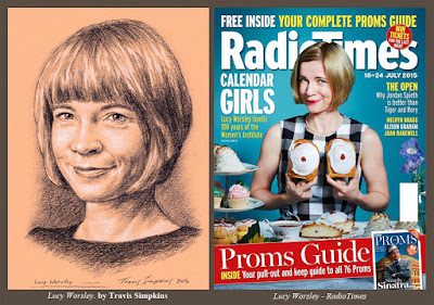 Lucy Worsley. Historian and Author. Curator at Historic Royal Palaces. by Travis Simpkins
