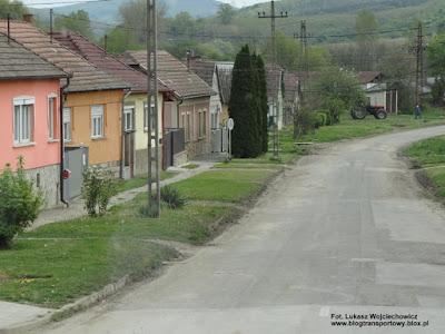 Węgry, Rétság. Rejon dworca autobusowego