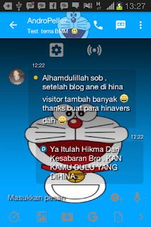 BBM MOD Tema Doraemon v3.0.0.18 Apk Terbaru