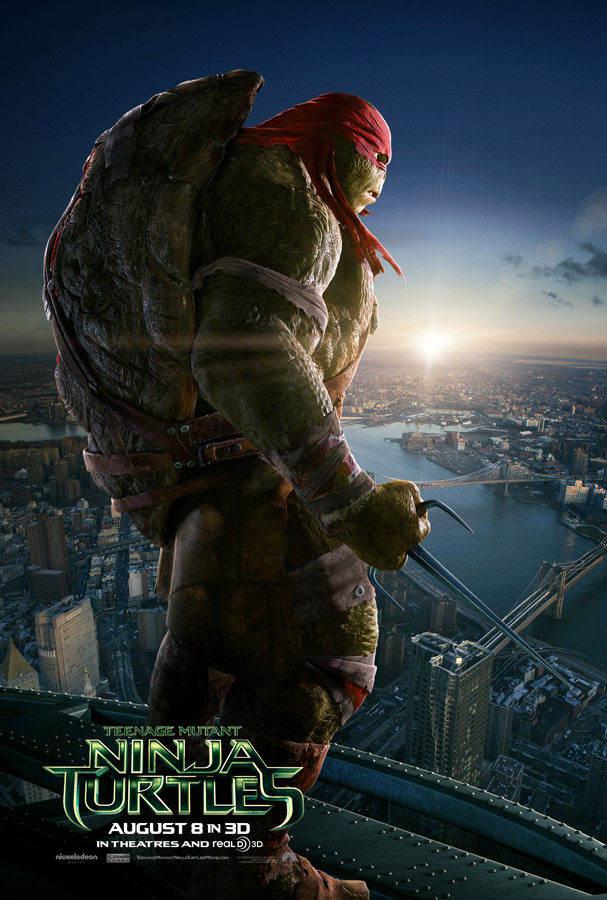 TEENAGE MUTANT NINJA TURTLES 2014 - Raphael