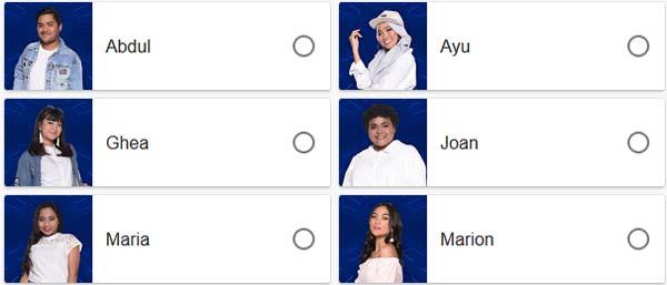 Yang tereliminasi keluar Top 5 Besar Indonesian Idol 2018