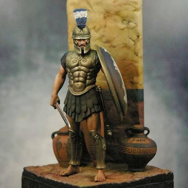 Sicilian Hoplite by David Powell