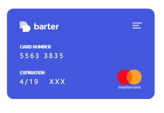 how to Get Barter Virtual Card