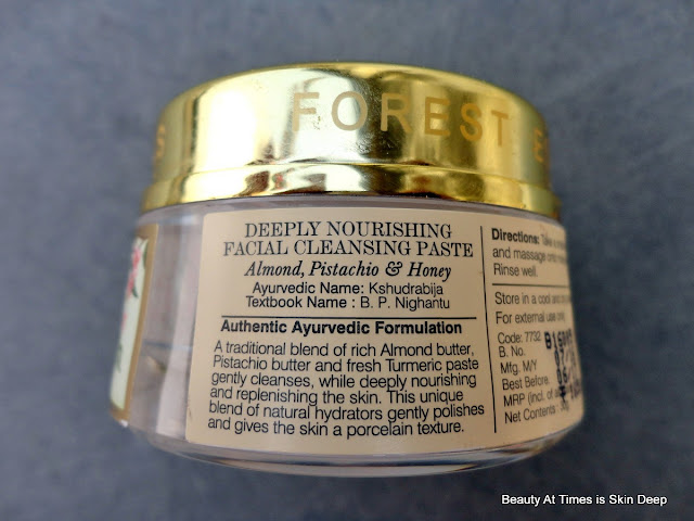 Forest Essentials Deeply Nourishing Facial Cleansing Paste