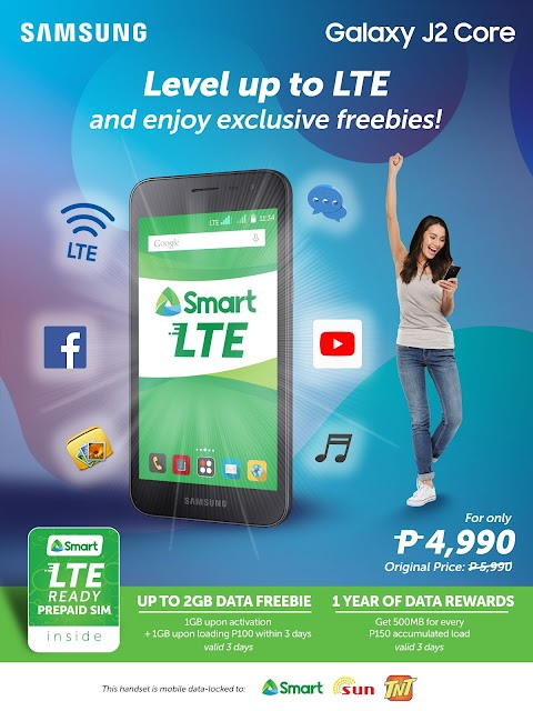 Level up and stay connected with LTE!