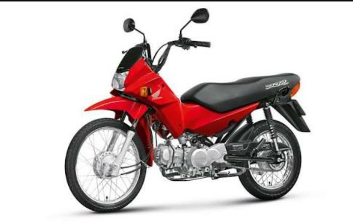 Resultado de imagem para moto pop 100 vermelha