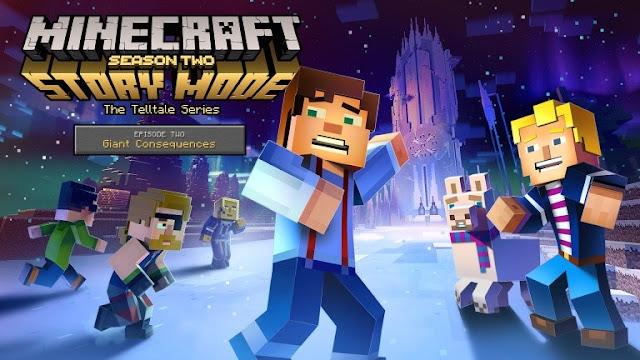 تحديد موعد الحلقة الثانية للموسم الثاني من لعبة Minecraft Story Mode
